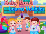 Baby Hazel Learns Vehicles