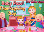 Baby Hazel Thanksgiving Day